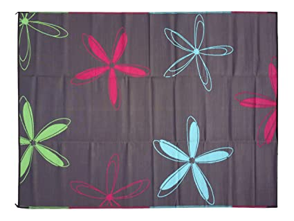 Marvelous Epic RV Rugs Rv Mat Patio Rug Colorful Floral Design 9x12
