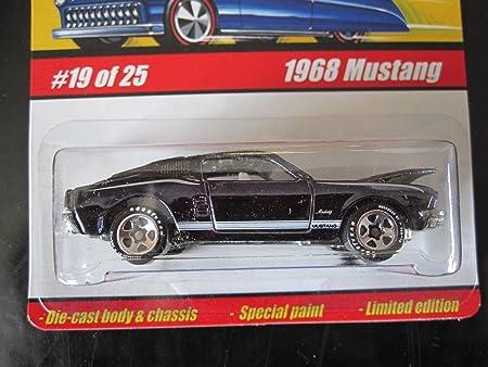 Hot Wheels Classics Series 1 #19 Purple 1968 Mustang