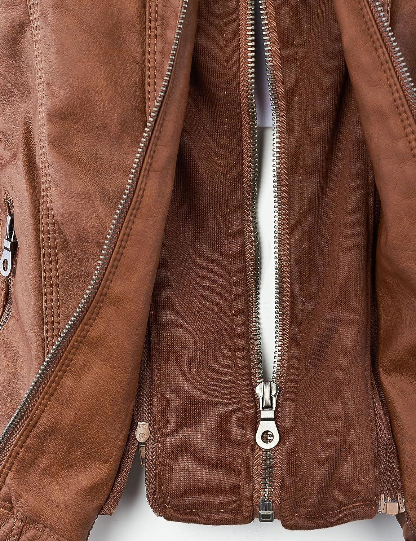 Amazon.com: LL Everyday chaqueta de aviador para mujer ...