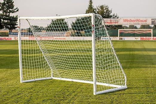 """8 opinioni per POWERSHOT Porta da calcio """"NEW"""" 3.7x2 m uPVC- UNICA- ALL'APERTO TUTTO L'ANNO +"""