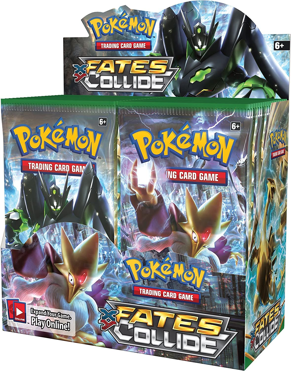 1 BOOSTER PACK! Pokemon XY Fates Collide Booster New Sealed TCG Card Game