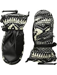 Burton Women's Gore-Tex Mitten, Blanket Stripe, Large