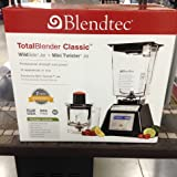 Blendtec Total Blender Classic Wildside Jar and Mini Twister Jar