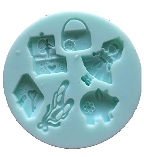 Decoración para tarta para fimo para fondant forma de cortadores BALLET DREAM molde de silicona (