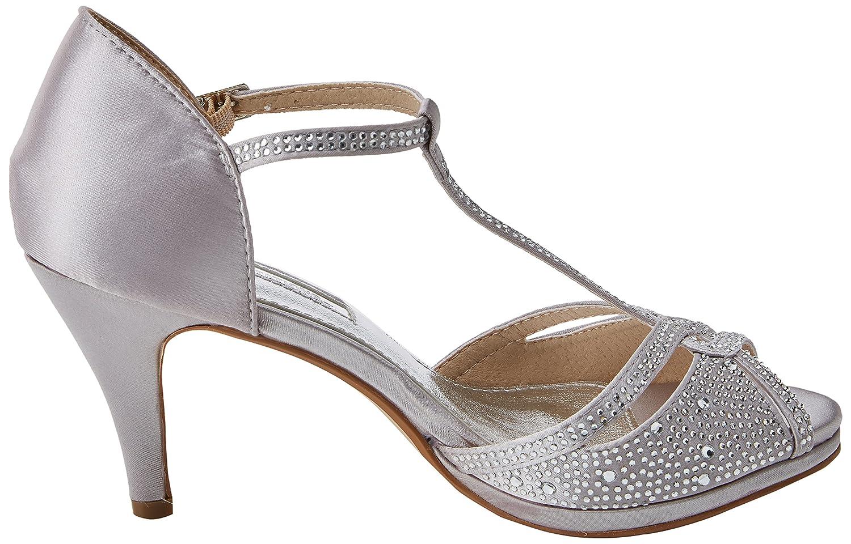 fa7a7130bb9 XTI Women s 30701 T-Bar Heels