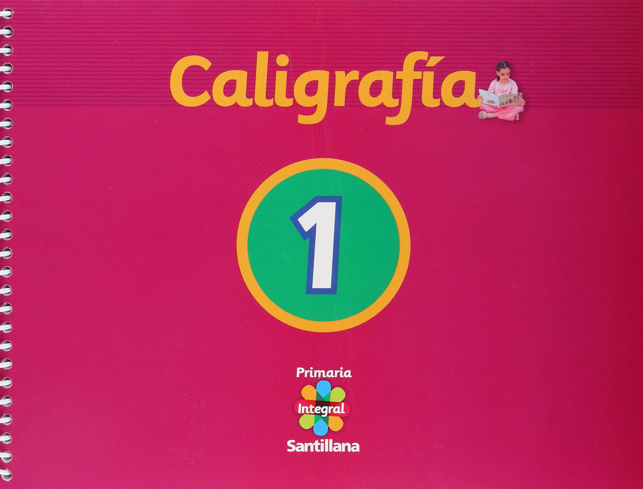 SANTILLANA INTEGRAL PRIMARIA (LIBRO + PLANTILLA DE LETRAS): 7506007540547: Amazon.com: Books