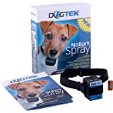 Dogtek NoBark Spray Bark Control Collar (collar only, spray refill not included)