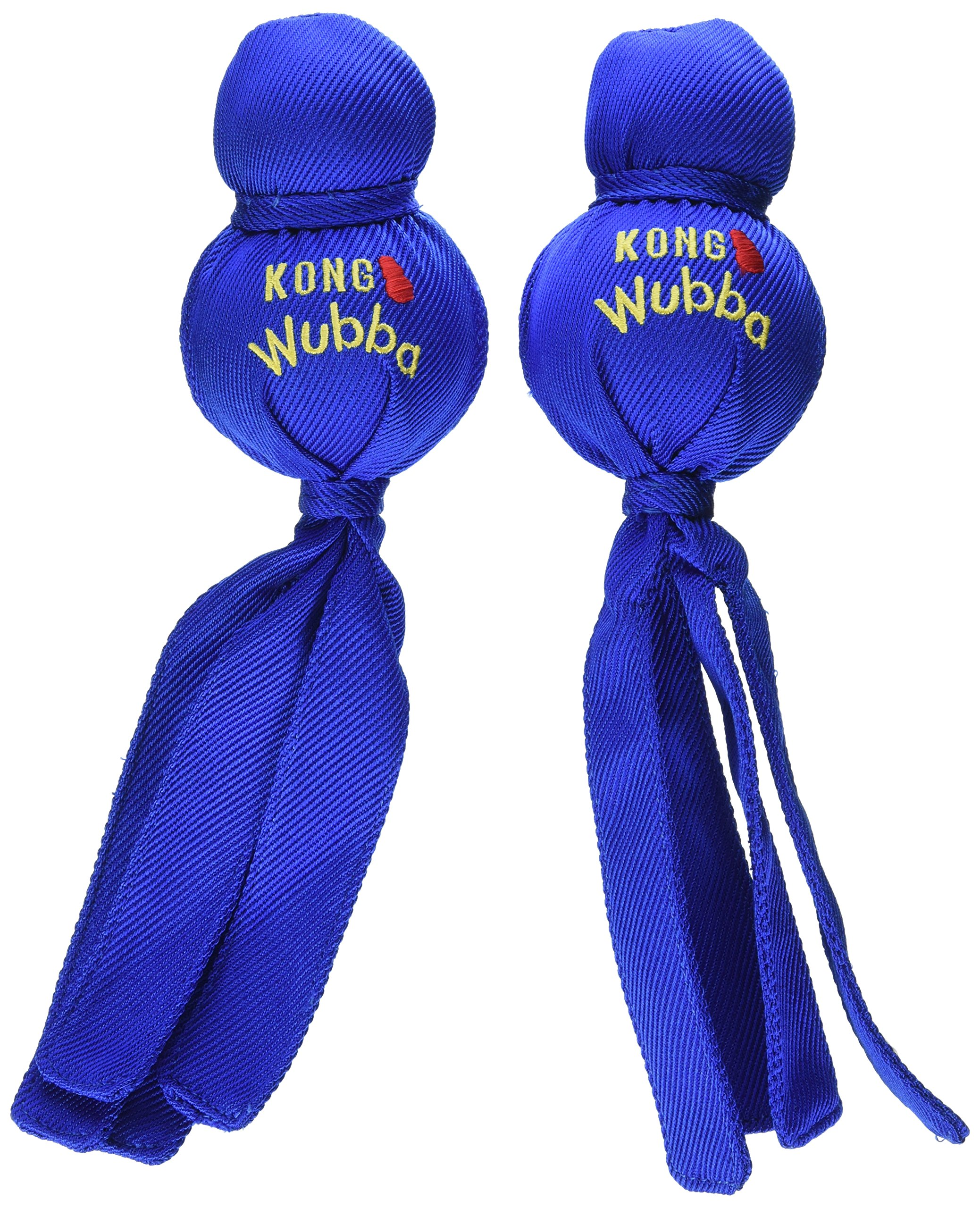 KONG Wubba Dog Size: Large Pack: of 2, Assorted by KONG