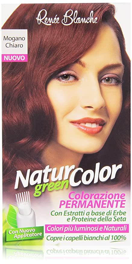 Renée Blanche Natur Color Colorazione Permanente Mogano Chiaro