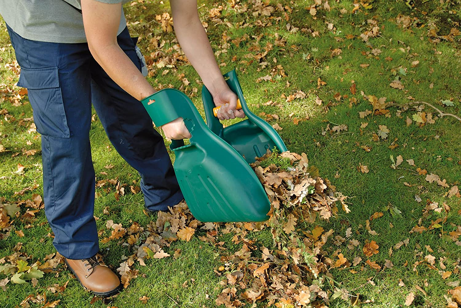 Pair 2xHeavy-Duty Leaf Collectors
