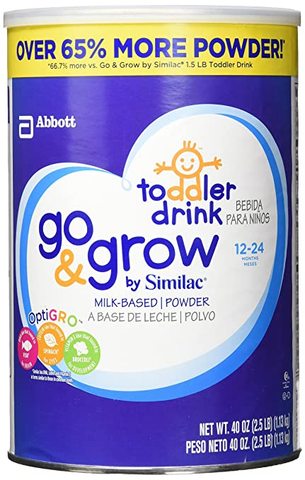 Similac Go And Grow Milk Based Powder, 40 Ounce: Amazon.com: Grocery & Gourmet Food