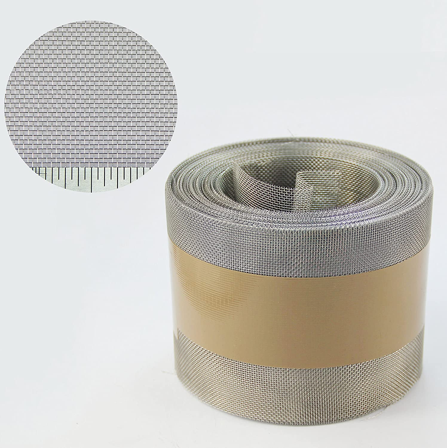 Soffit Insect Mesh - Stainless Steel Mesh - 100mm x 30.5mm Roll + FREE SHIPPING The Mesh Company
