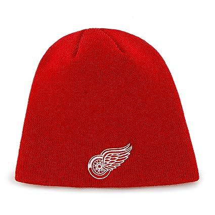 af0cbdf4e59 Amazon.com   NHL Detroit Red Wings Men s Knit Hat
