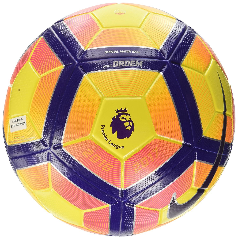 de77223fa139 Amazon.com   Nike Premier League Ordem 4 Football Soccer Ball(Hi-Vis)    Sports   Outdoors