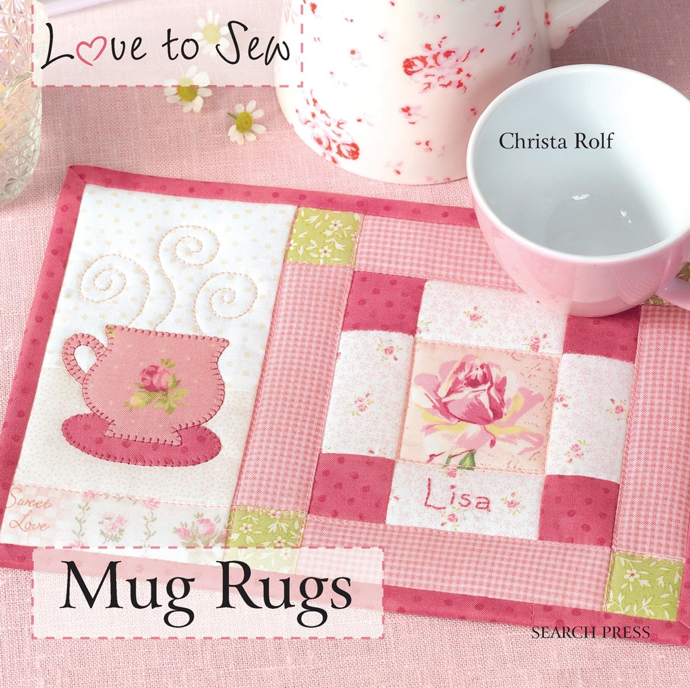 Mug Rugs Love Christa Rolf product image