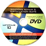 Recovery, Repair & Re-install disc compatible with MS Win 10 32/64 bit