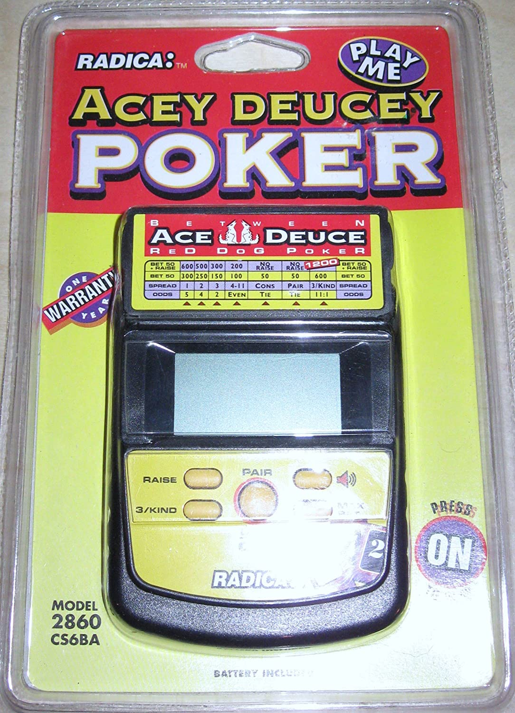 2019年新作 [Radica]Radica Acey Deucey Electronic Handheld Poker Game by na [並行輸入品] B003JF74G6, Amazing 71ed13c2
