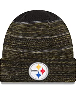 bf58180d8 clearance new era steelers knit hat 9e723 ed756