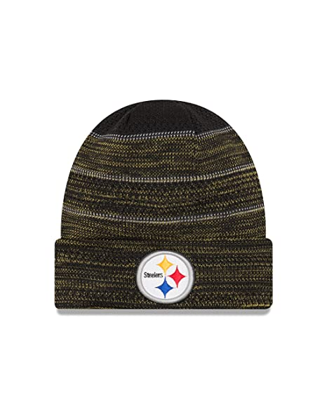 New Era Men S Men S Steelers 2017 Sideline Official Td Knit Hat