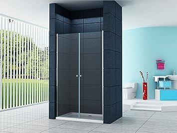 6 Mm Nischentür Sany 120 X 195 Cm Nische Duschtür Duschkabine