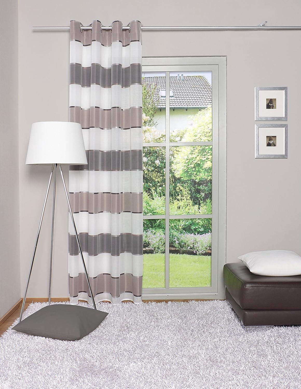 Grau Home Fashion /Ösenschal