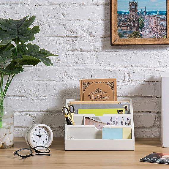 Amazon.com: MyGift - Organizador de escritorio (4 ...