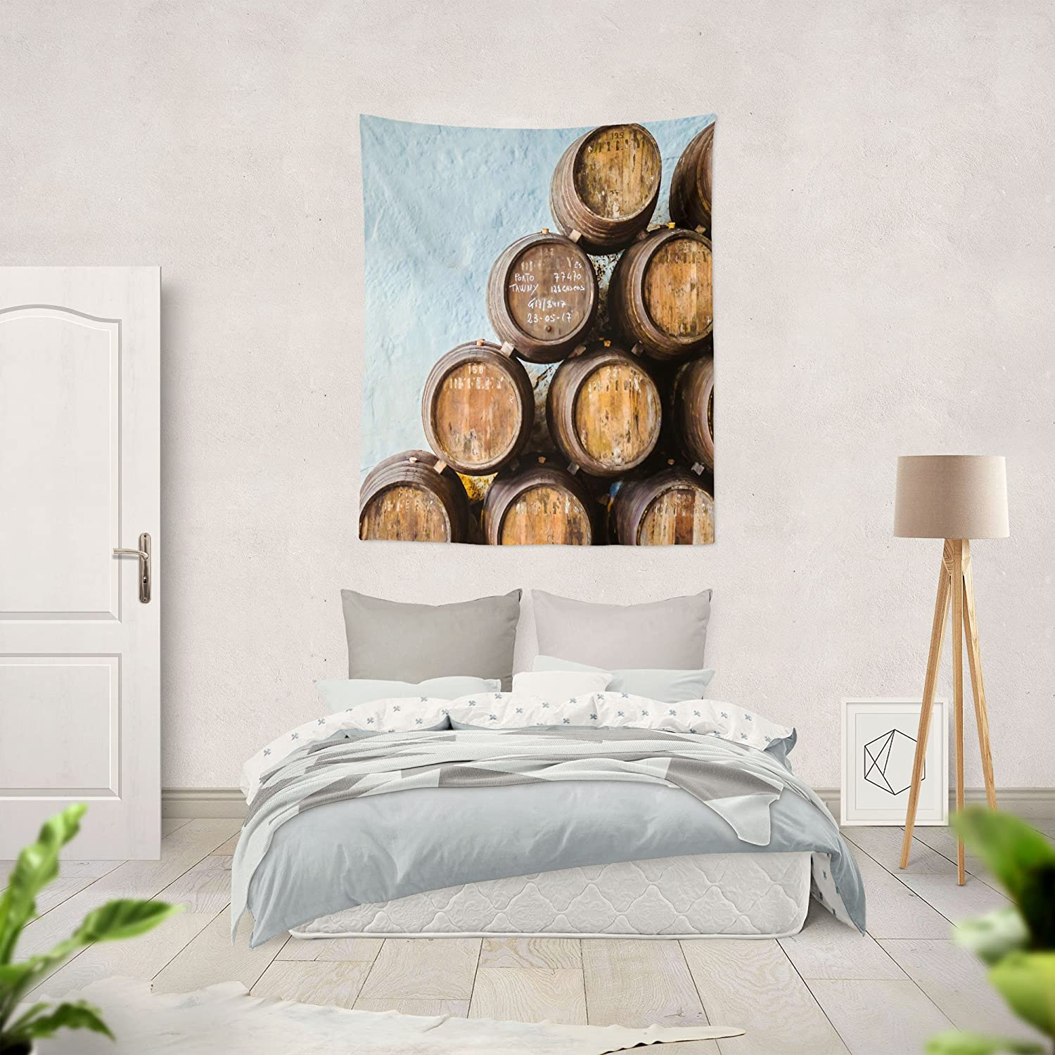 Amazon.com: Westlake Art - Barrel Barrels - Wall Hanging Tapestry - Picture Photography Artwork Home Decor Living Room - 68x80 Inch (A6475): Home & Kitchen