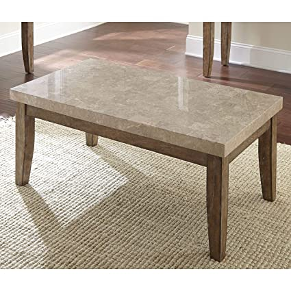 Amazoncom Greyson Living Fulham Marble Top Coffee Table Kitchen