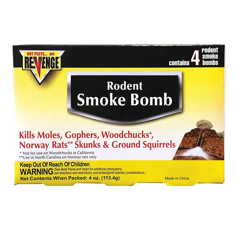 Rodent Smoke Bomb, PK/4 - No. 110 Revenge 61110 StvB002LCT2I6XS