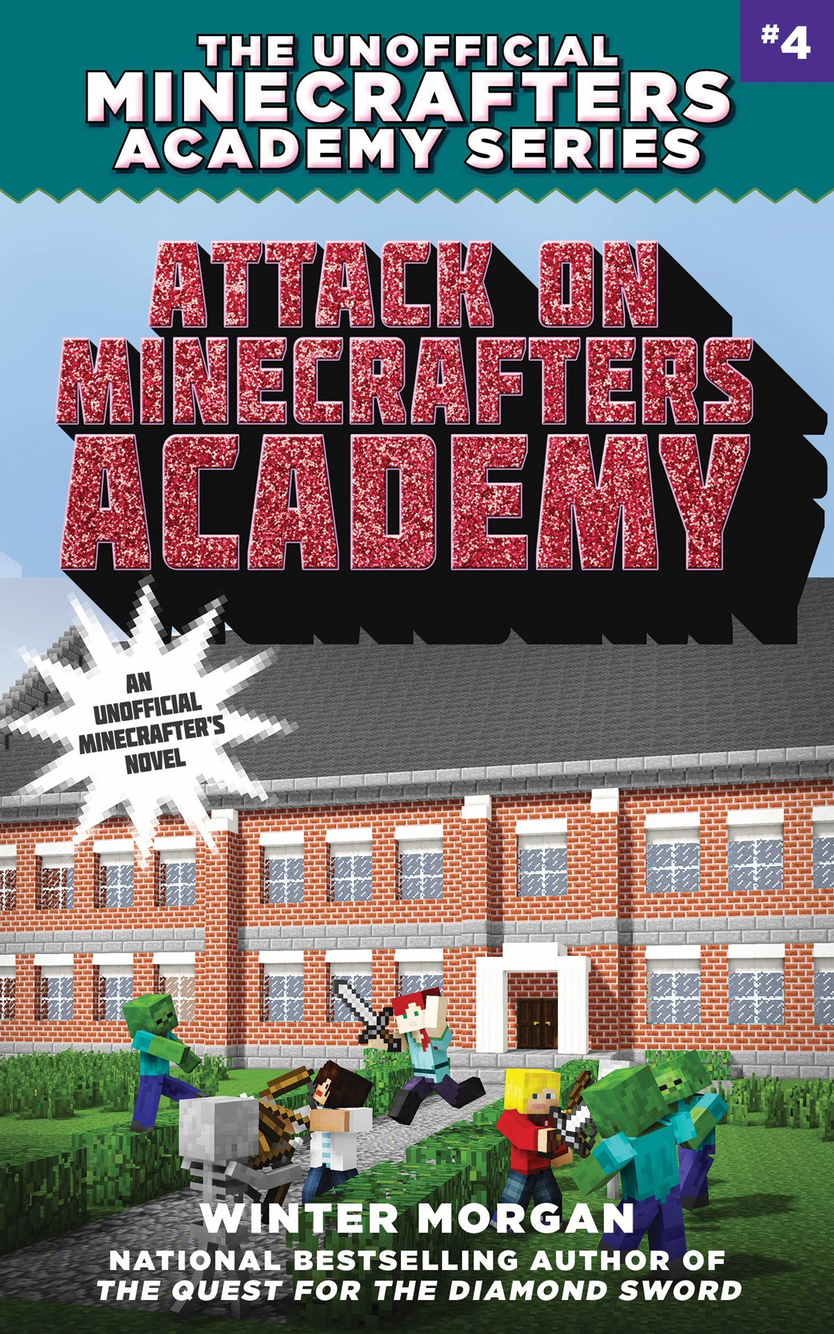 Attack Minecrafters Academy Unofficial Book
