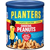Planters Cocktail Peanuts, Lightly Salted, 16 Ounce Canister