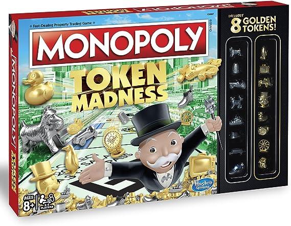 Monopoly Token Madness Game: Amazon.es: Juguetes y juegos