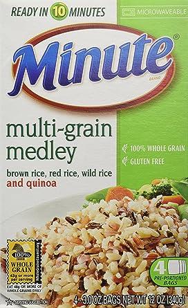Minute Medley - Bolsas de arroz multicolor de color marrón y ...
