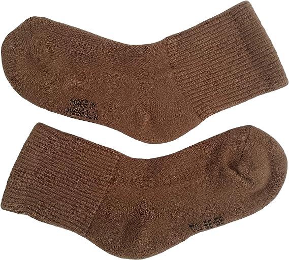 Mongolian marron camel Wool Socks
