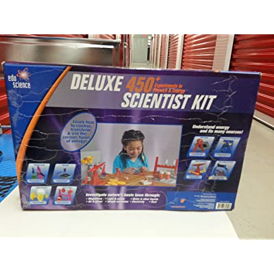 Deluxe 450+ Experiments in Physics & Energy Scientist Kit: Office Products
