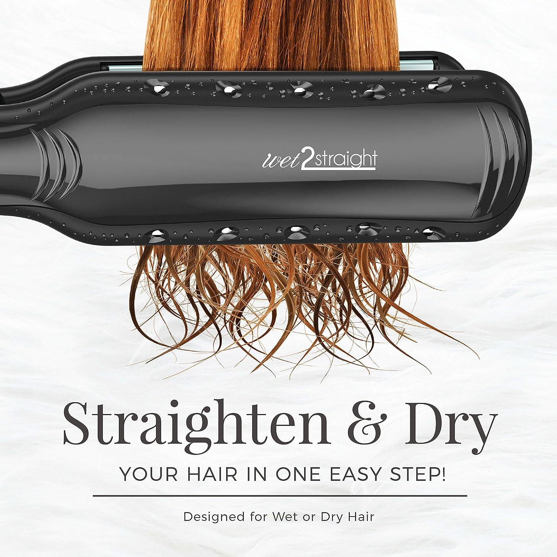 Ceramic Hair Straightener, Titanium Plates Professional Flat Iron Hair Straightener