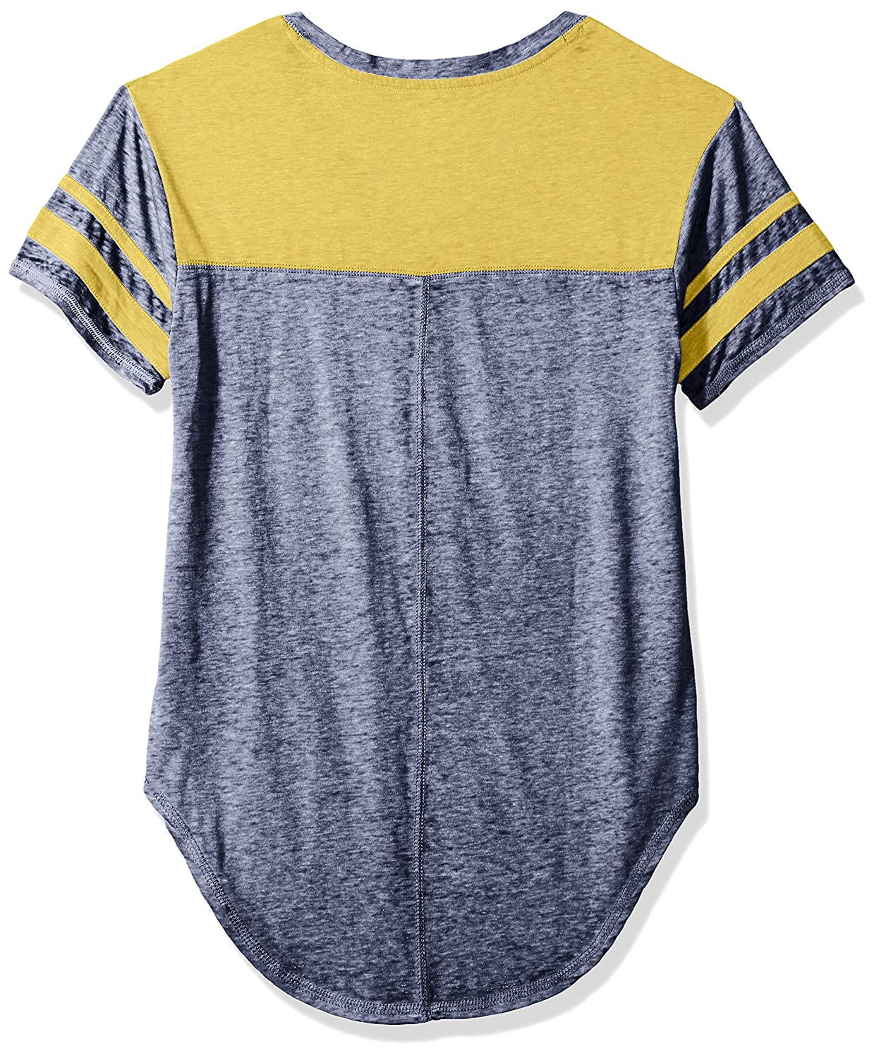 3-5 Small NCAA Michigan Wolverines Juniors Outerstuff Vintage Short Sleeve Football Tee Team Color