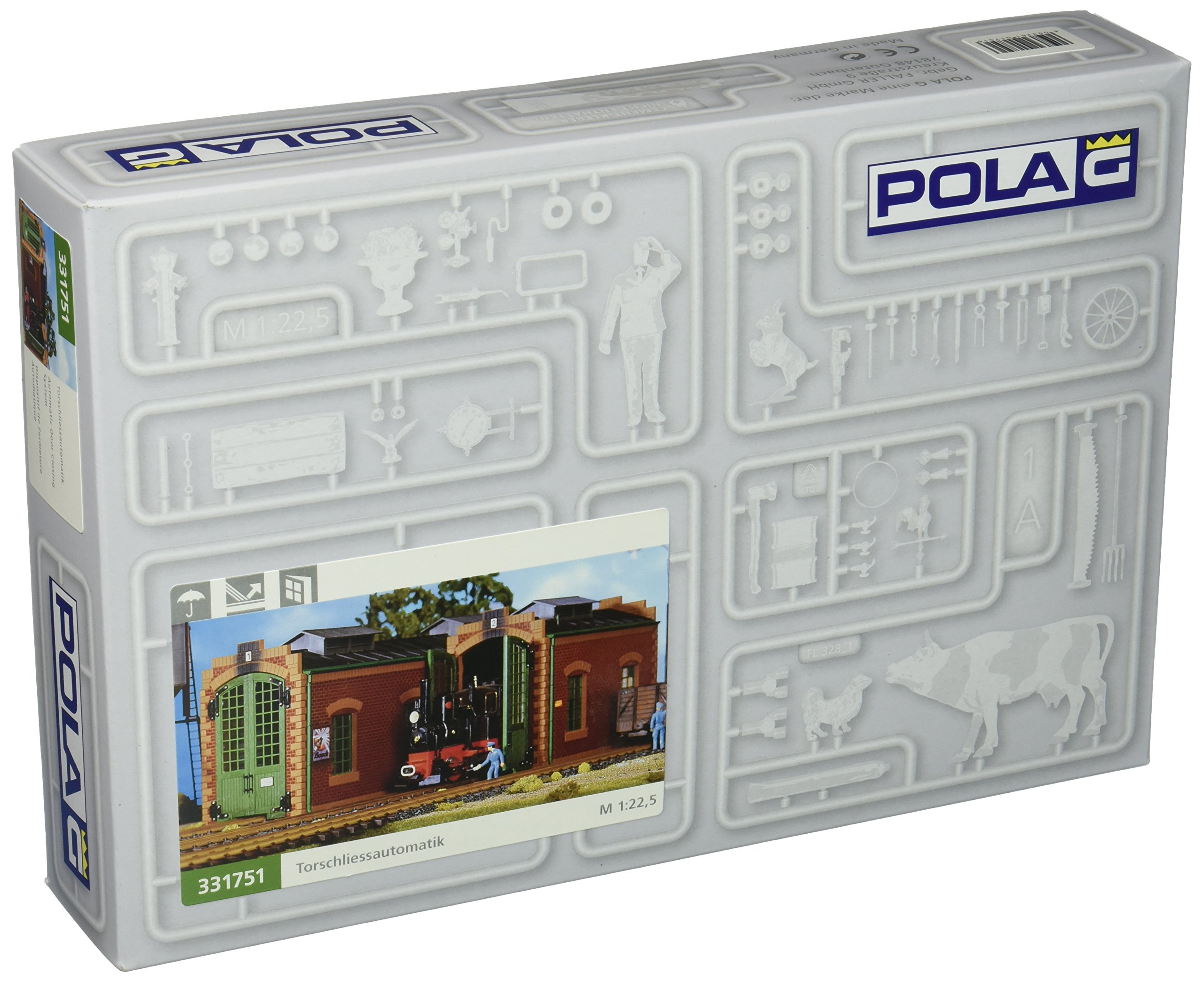 POLA 331751 Auto-Matic Door Close sys G Scale Building Kit