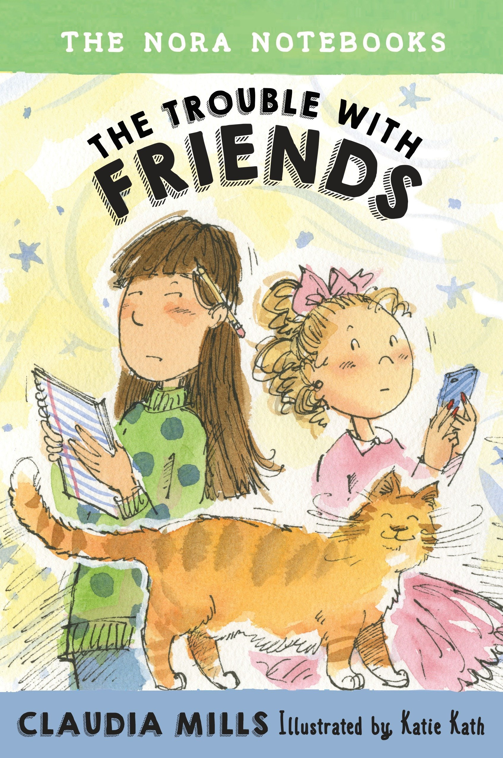 The Nora Notebooks, Book 3: The Trouble with Friends pdf epub