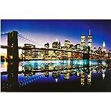 1art1, 43768, Poster, motivo: New York - Ponte di Brooklyn, 91 x 61 cm