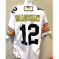 $149 » Terry Bradshaw Pittsburgh Steelers Signed Autograph Custom Jersey White Tristar Authentic Certified