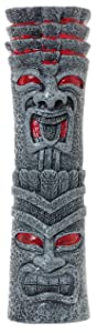 "Tiki Totem Pole Full Size 10"" Beer Tap Handle Pull for Homebrew, Kegerators, or Bars"