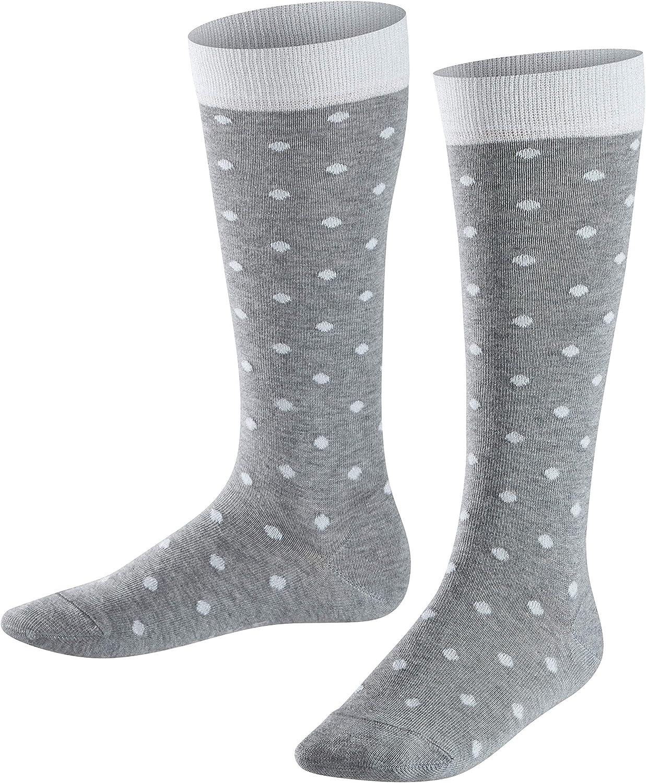 FALKE Kinder Kniestr/ümpfe Glitter Dot pflegeleicht 1 Paar Gr/ö/ße 19-42 84/% Baumwolle mit Glitzer und Punkten f/ür Kinder Farben Versch