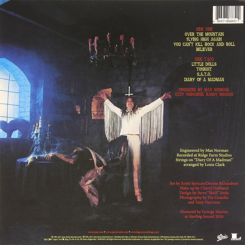 Diary Of A Madman : Ozzy Osbourne, Ozzy Osbourne: Amazon.es: Música