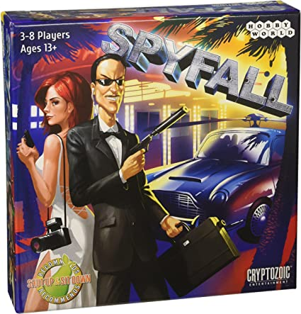 CZE01904 Spyfall Card Game Publisher Services Inc PSI