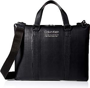 Calvin Klein Men's Slim Attache, black, 1 SIZE