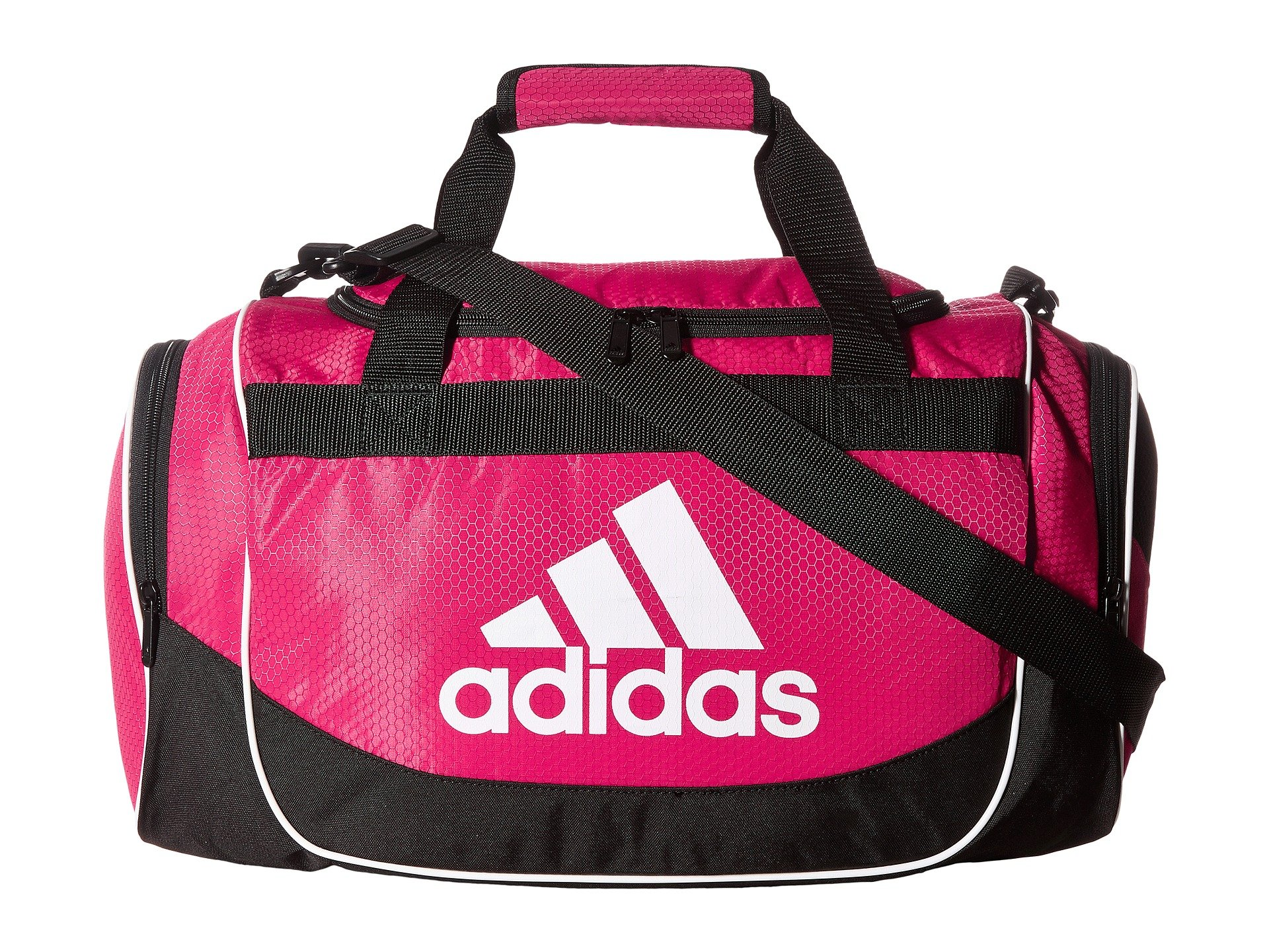 adidas Unisex Defense Small Duffel Bold Pink One Size