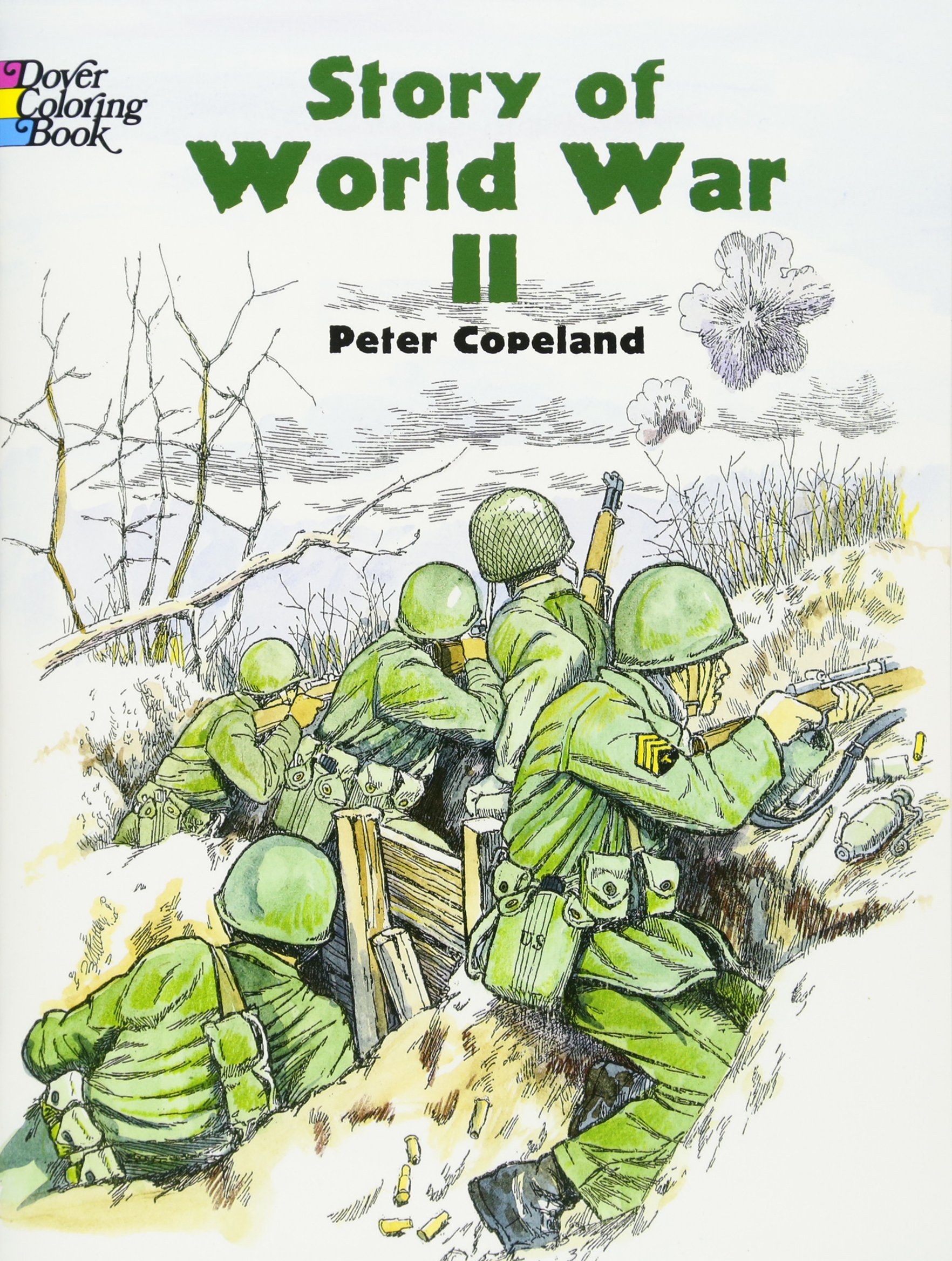 Story World Dover History Coloring product image