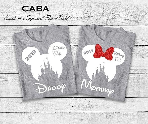 Amazon Com Disney Shirt 2019 Disney Trip Castle Family Shirts