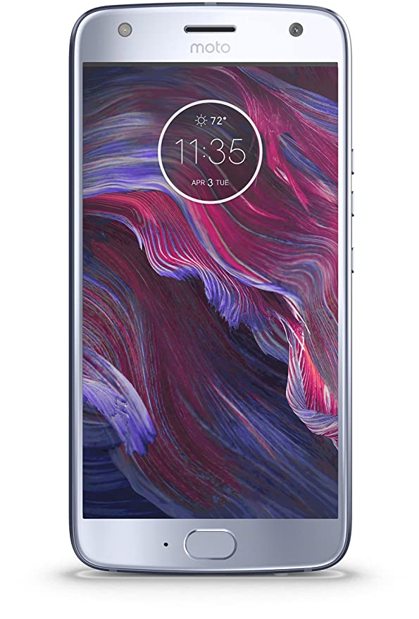 Moto X4 (Sterling Blue, 64 GB) Smartphones at amazon